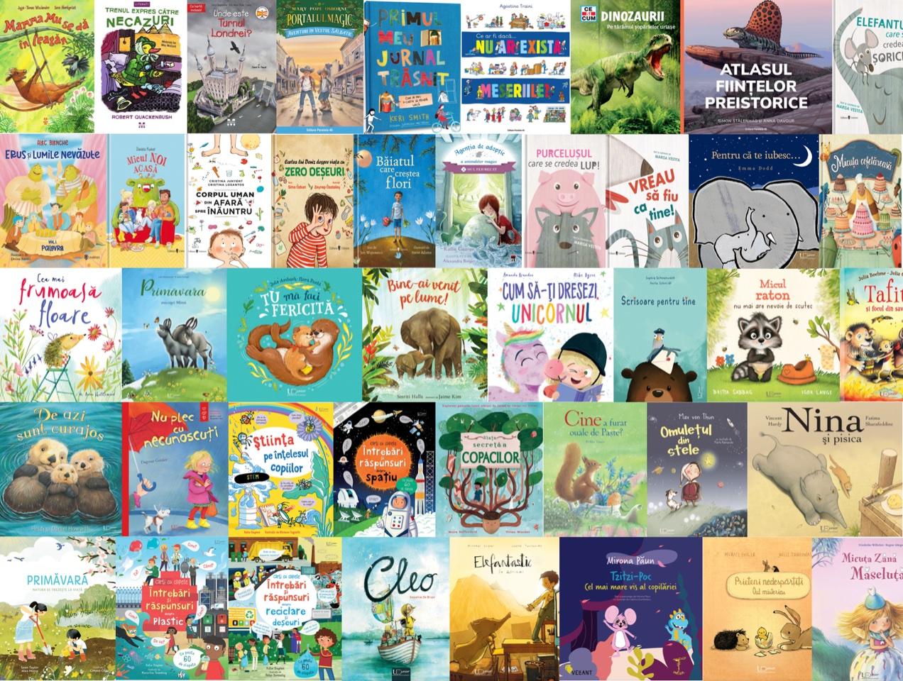 Noutăți editoriale pentru copii ianuarie-martie 2021 — V