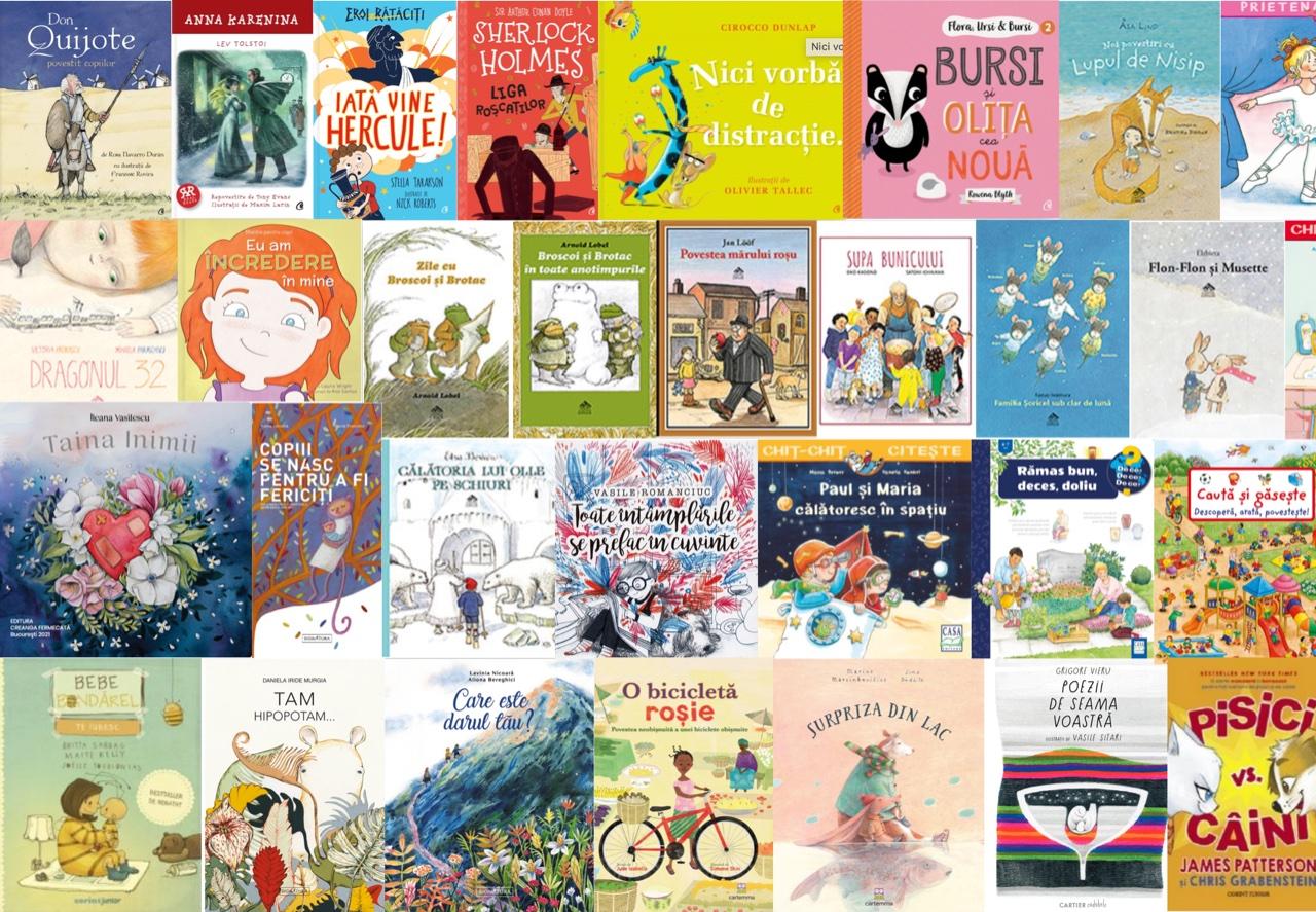 Noutăți editoriale pentru copii ianuarie-martie 2021 – II