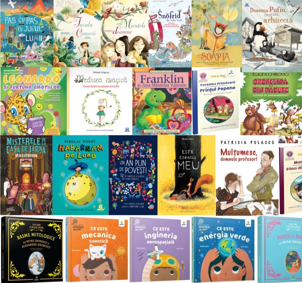 Noutăți editoriale pentru copii ianuarie-martie 2021 – III