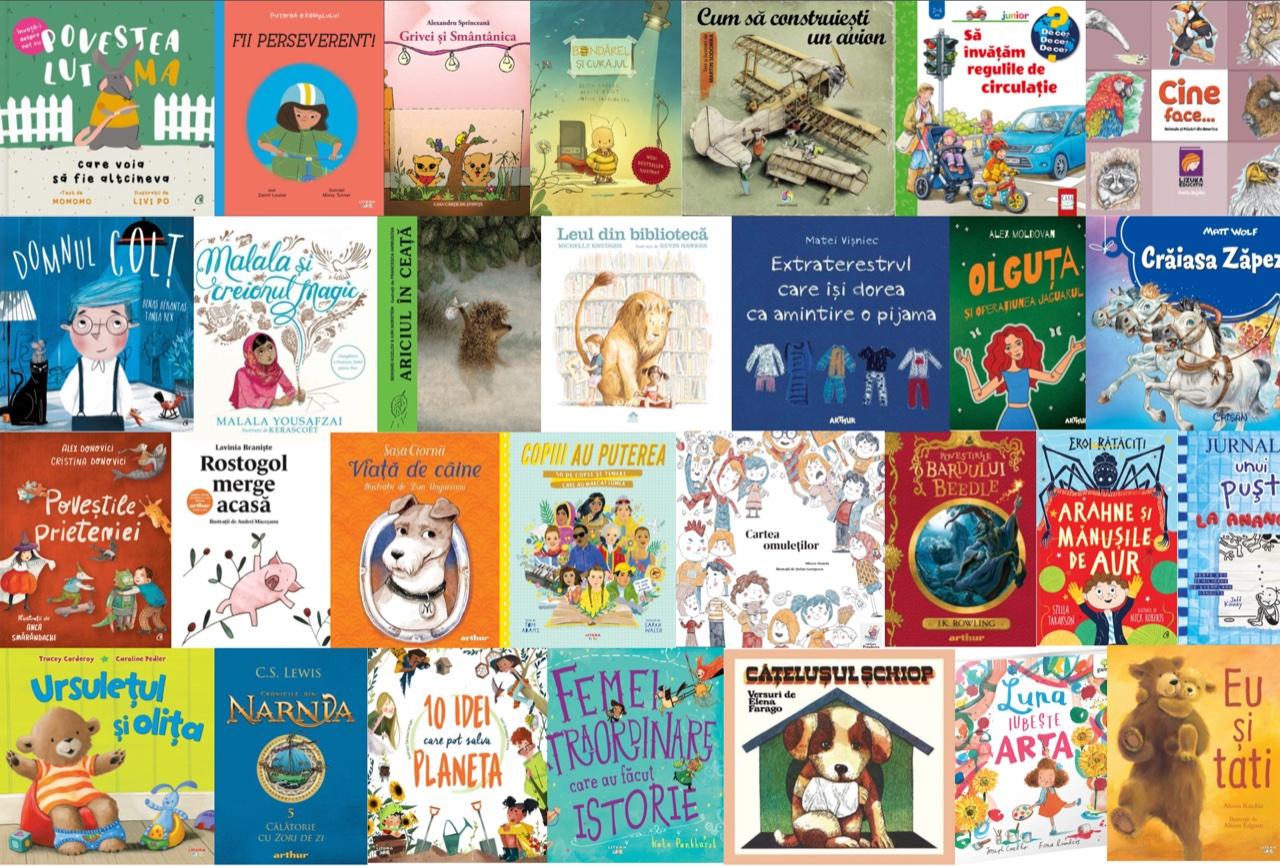 Noutăți editoriale pentru copii, luna aprilie I