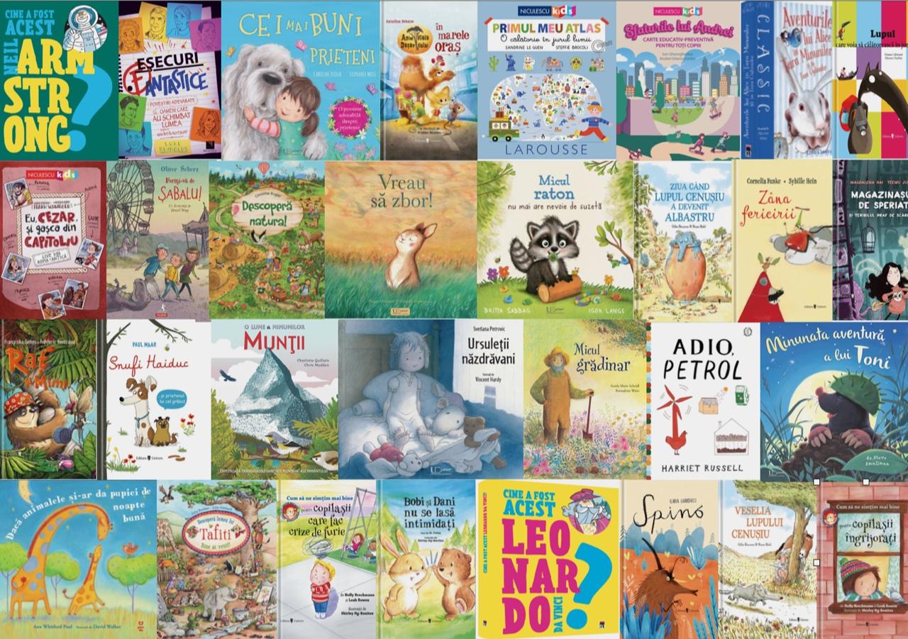 Noutăți editoriale pentru copii, în luna aprilie II