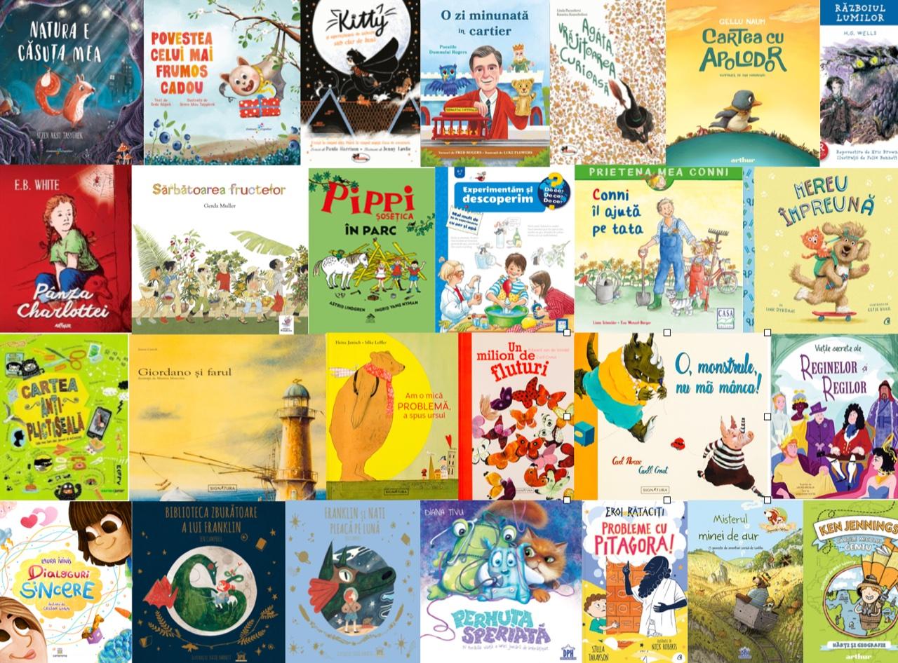 Noutăți editoriale pentru copii în luna mai I