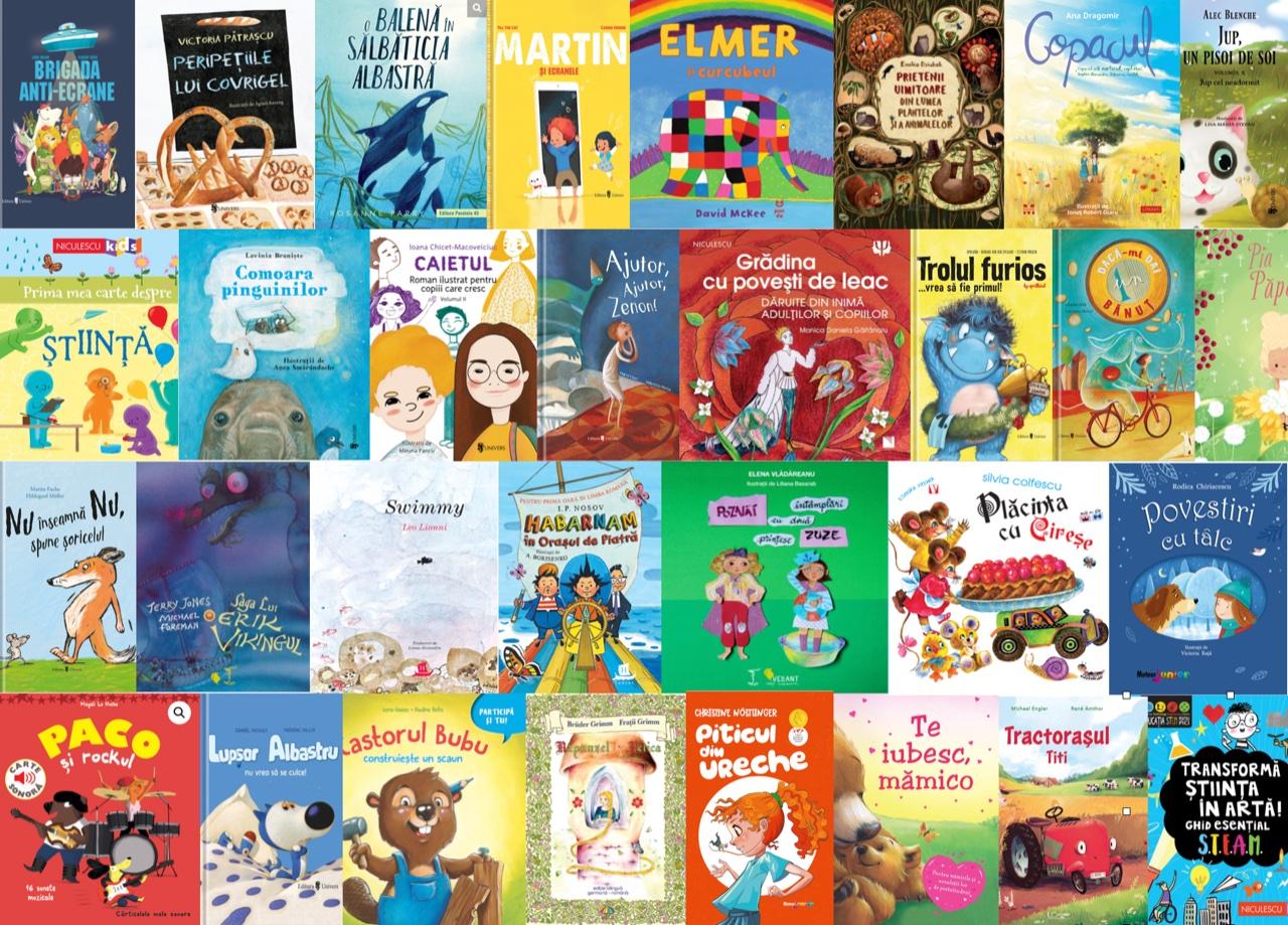 Noutăți editoriale pentru copii în luna mai II