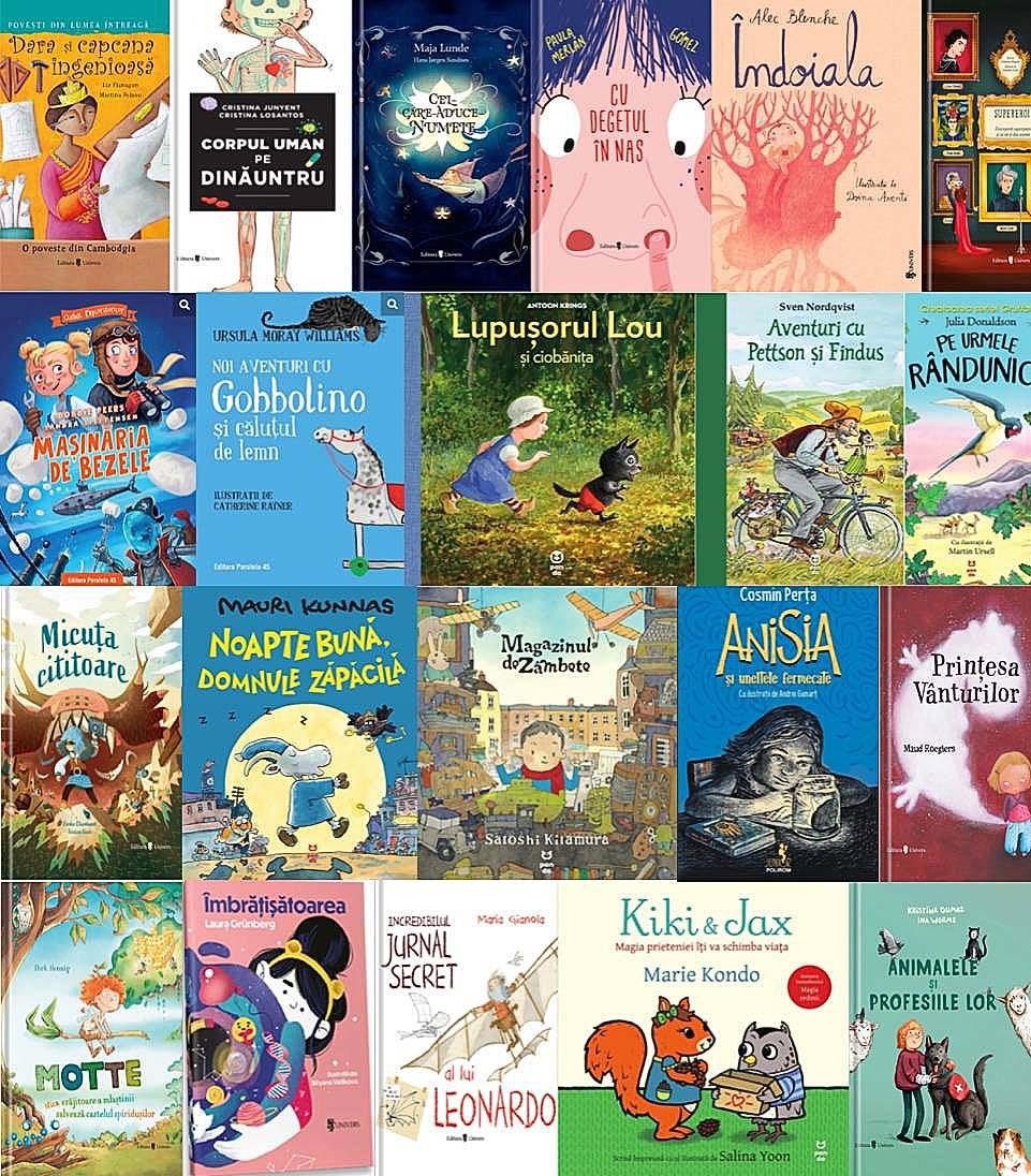 Noutățile editoriale pentru copii în luna iunie III