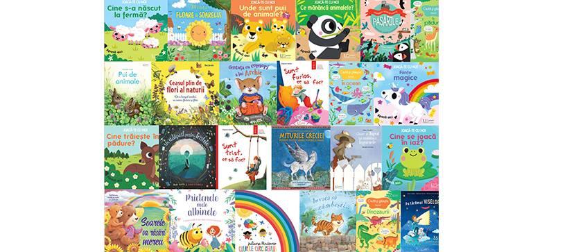 Noutățile editoriale pentru copii în luna iunie IV