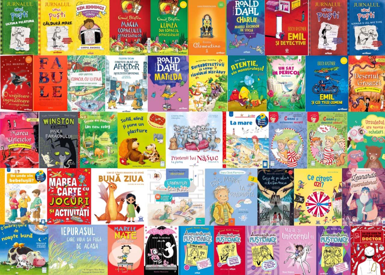 Noutăți editoriale pentru copii în luna iunie I