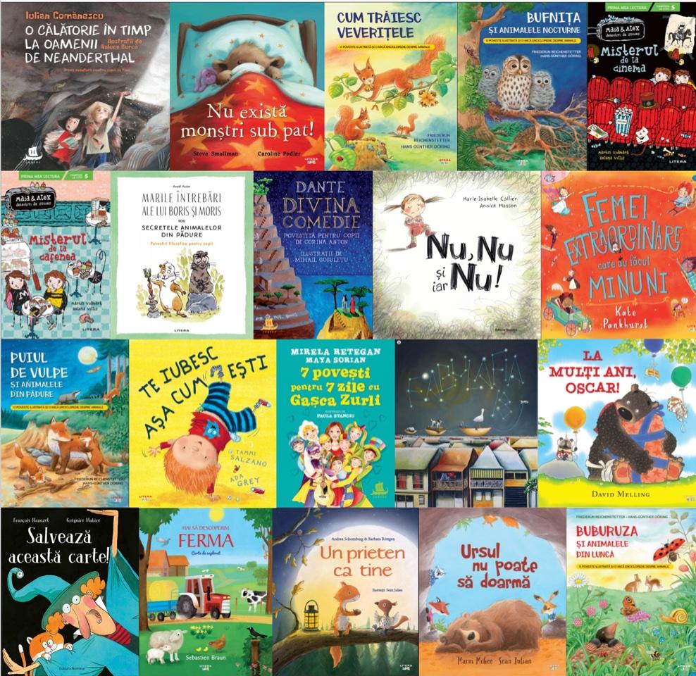 Noutăți editoriale pentru copii în luna iunie II